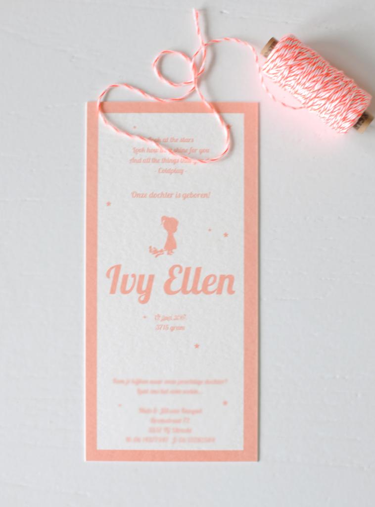 Geboortekaartje-karton-silhouette-Ivy-Ellen-achter2-758x1024